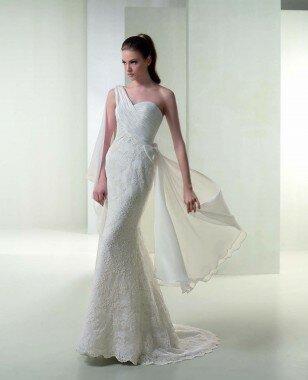 Платье 3057 от коллекции -White One