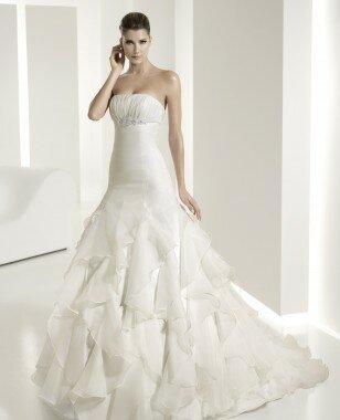 Платье 6201 от коллекции -White One