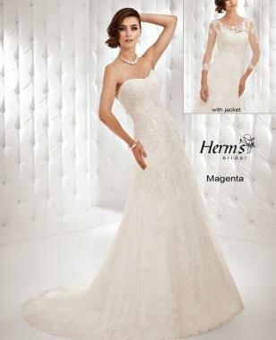Платье Magenta от коллекции -Herm's