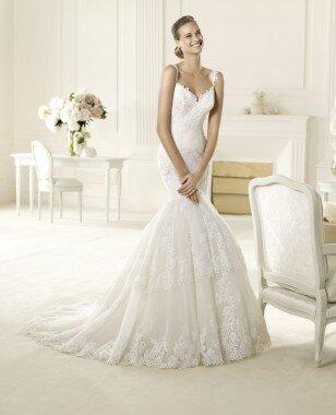Платье Umana от коллекции -Pronovias